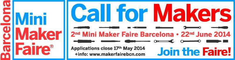 CallMiniMakerFaireBarcelona2014