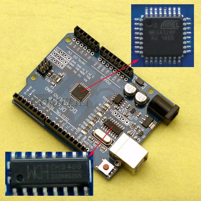 Arduino UNO clone ch340G